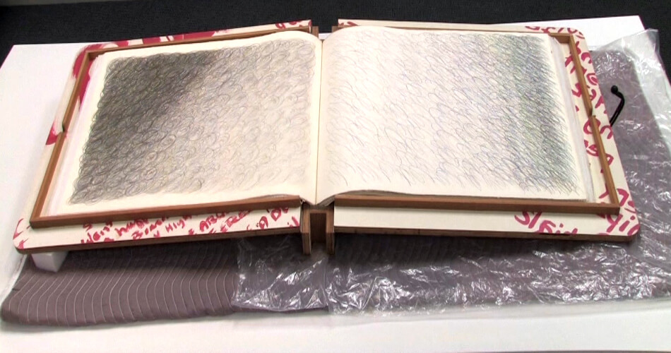 Copy of Wayne E Campbell 1971–72 SECA Award Exhibition Book Pages