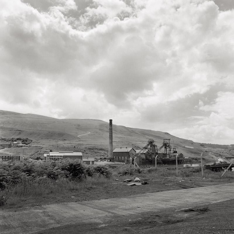 Lewis Merthyr Colliery, Trehafod, Pontypridd, Wales, 1990