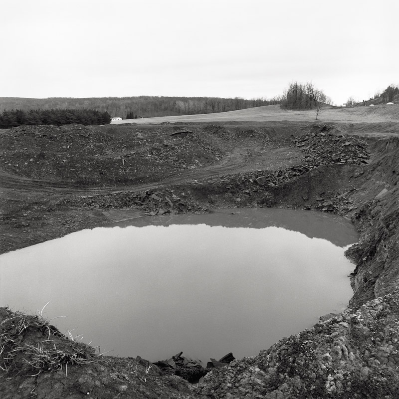 Abandoned pit near Midland, Maryland, 1989