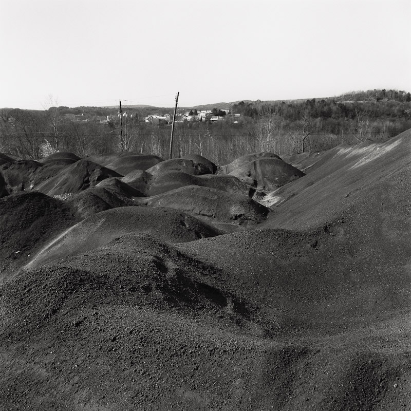 Waste coal, Schuylkill County, Pennsylvania, 1990