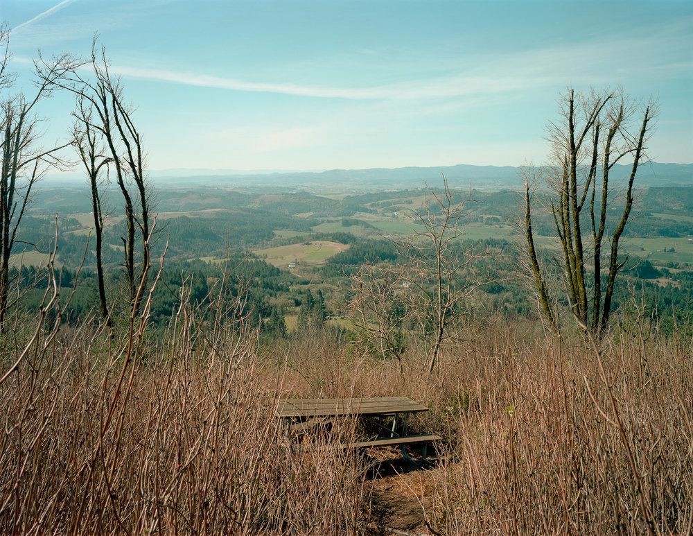 Bald Peak State Scenic Viewpoint, Hillsboro, OR, 2015