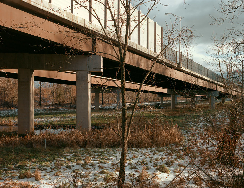 Highway overpass, Leesburg, Virginia, 2012
