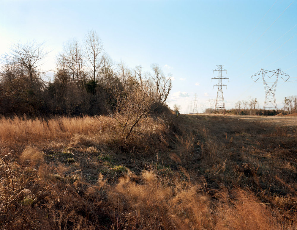 Power lines, Stone Ridge, Virginia, 2012