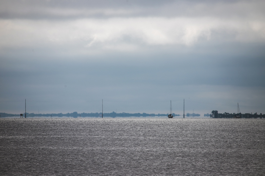 Looking out over Indian River early Thursday morning