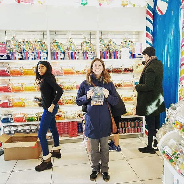 We interrupt your regularly scheduled healthy vegetables and pastured meats thread for this farmer vacation to #dylanscandybar in New York City.  Happy Thanksgiving!  #thankfulforcandy #nodesserttilyoufinishyourvegetables