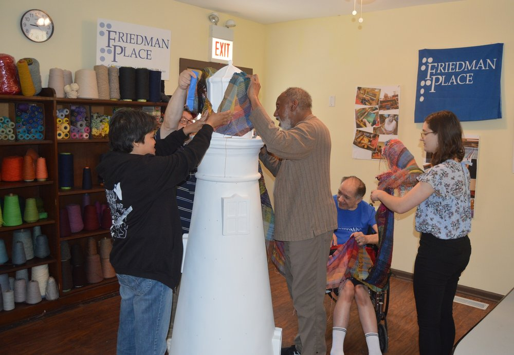 Friedman Place Wrapping...JPG