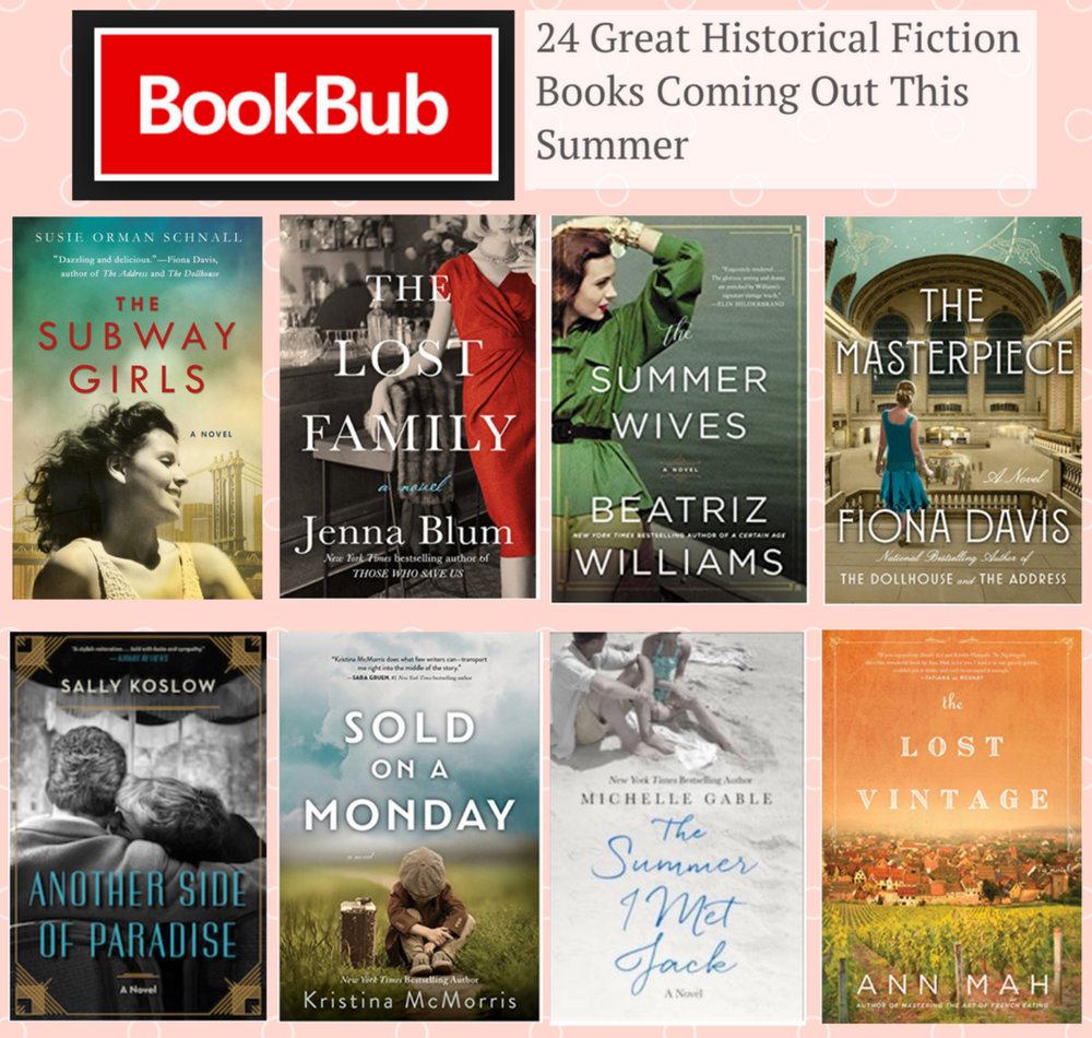 BookBub names The Lost Family one of Best Historical Novels of Summer 2018! - We're thrilled BookBub has named The Lost Family one of the best historical novels of Summer 2018. For the full list of books, please click here—and historical fiction lovers, you'd better get a bigger beach bag!