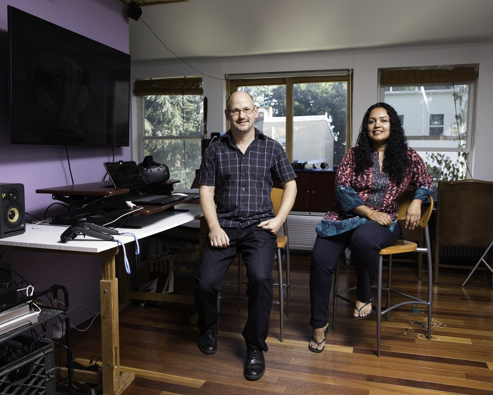 ANULA SHETTY + MIKE KUETEMEYER