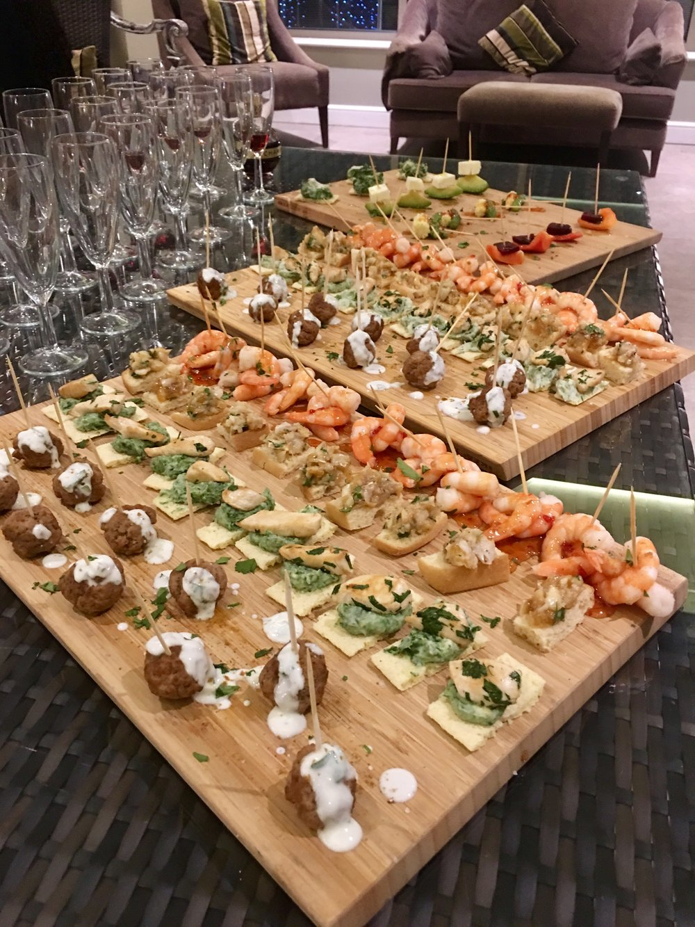 Moroccan canapes and drinks.jpg