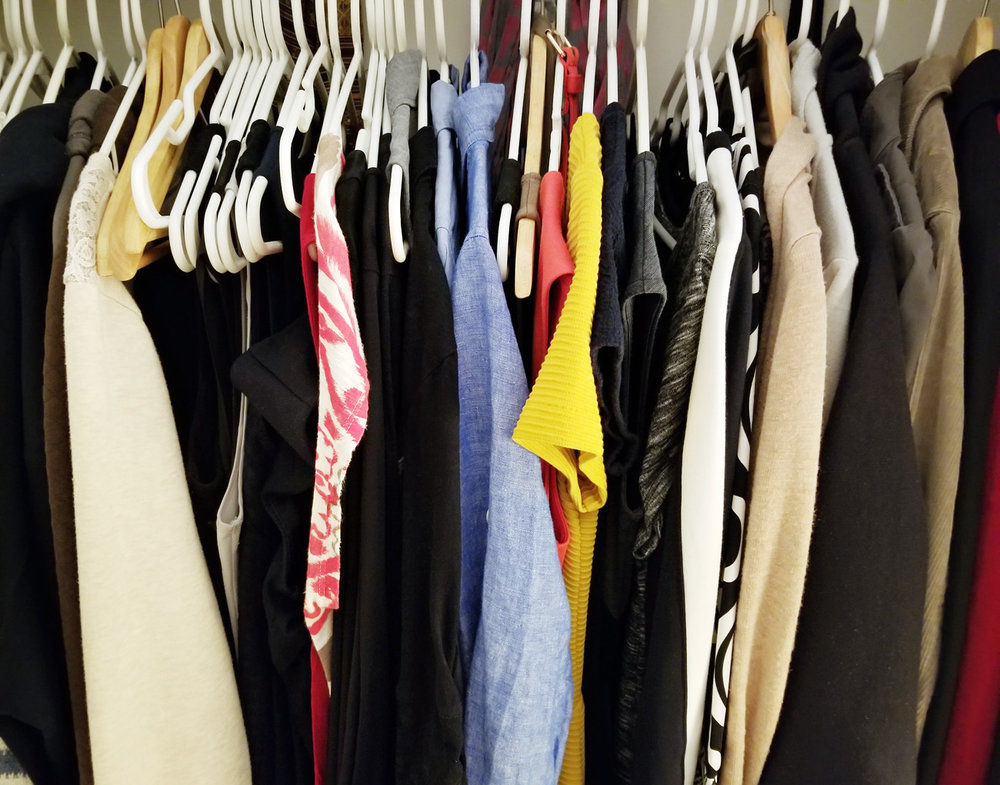 Reorganizing your clothes closet