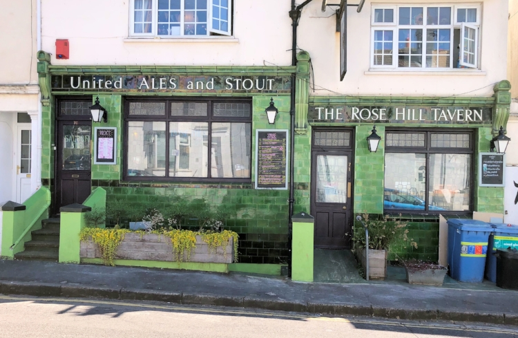 the rose hill tavern BRIGHTON