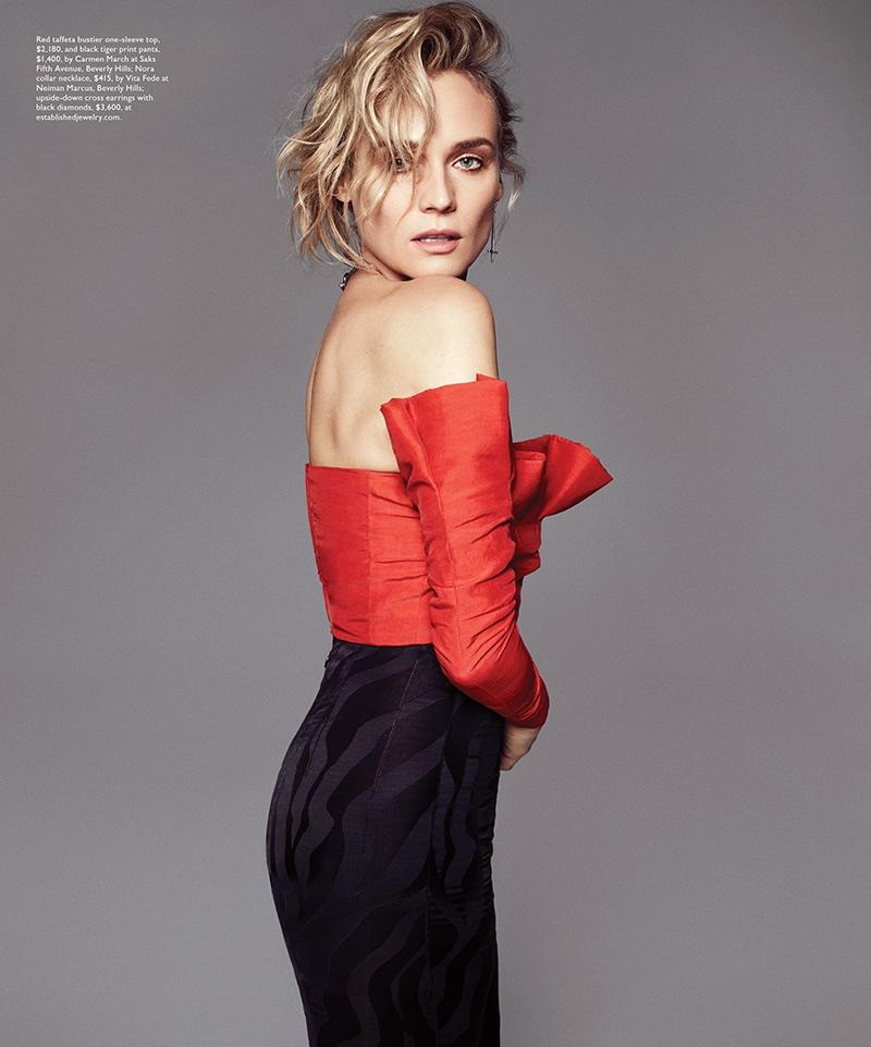 Established Jewelry Editorial Press, Modern Luxury Diane Kruger