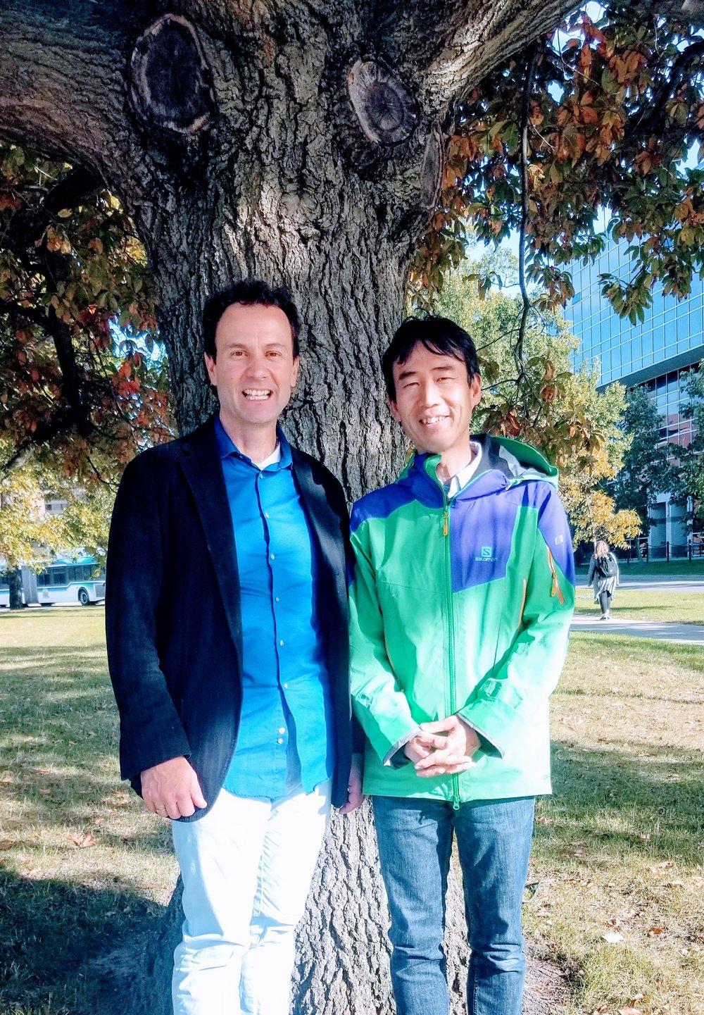 Iwao Euhara & Ben at MSU.jpg