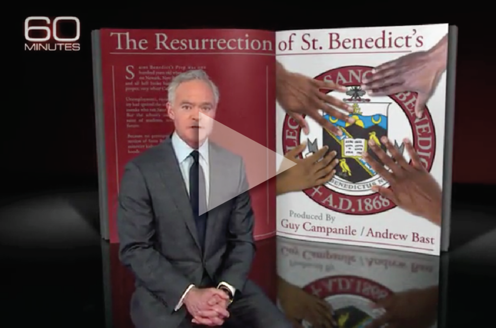 OUR INSPIRATION —   60 Minutes   segment on St. Benedict's Prep School for Boys, in Newark, NJ.