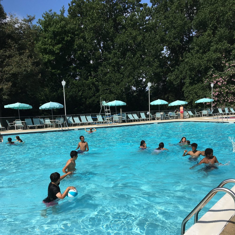 Ahhhh, the pool, 2017