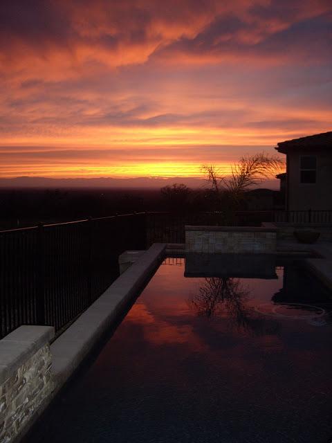 Stylemindchic Lifestyle Sunset from the terrace