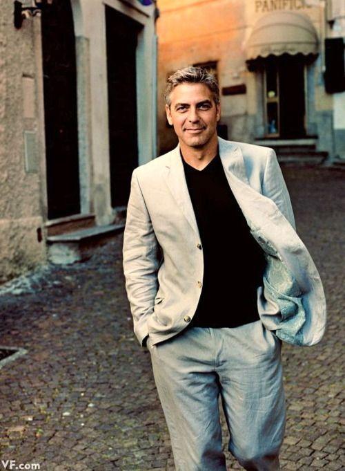 George Clooney Vanity Fair