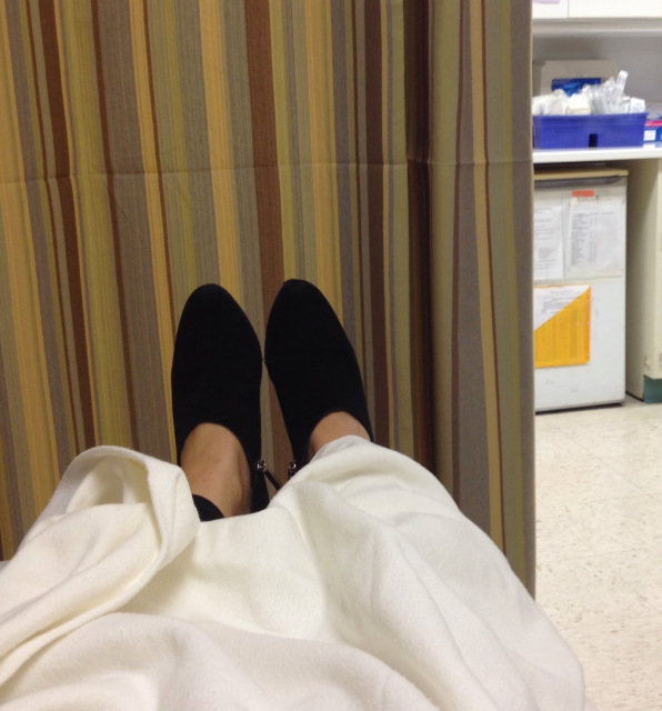 Booties up in the ER