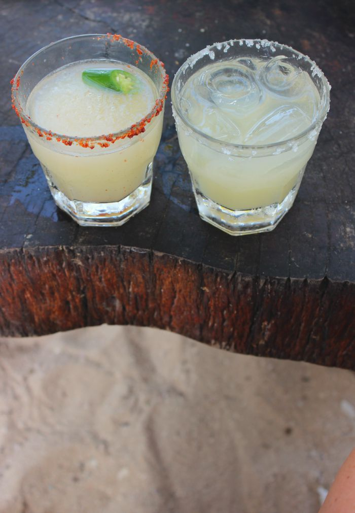 margaritas in the sand