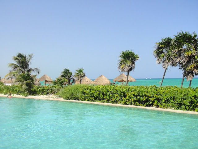 Riviera Maya Getaway at Secrets Maroma Beach and the lovely beach and pool