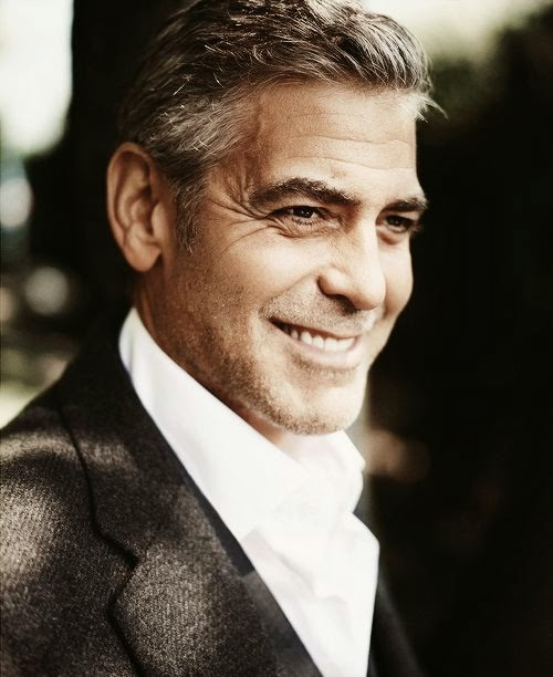 Image of George Clooney smiling