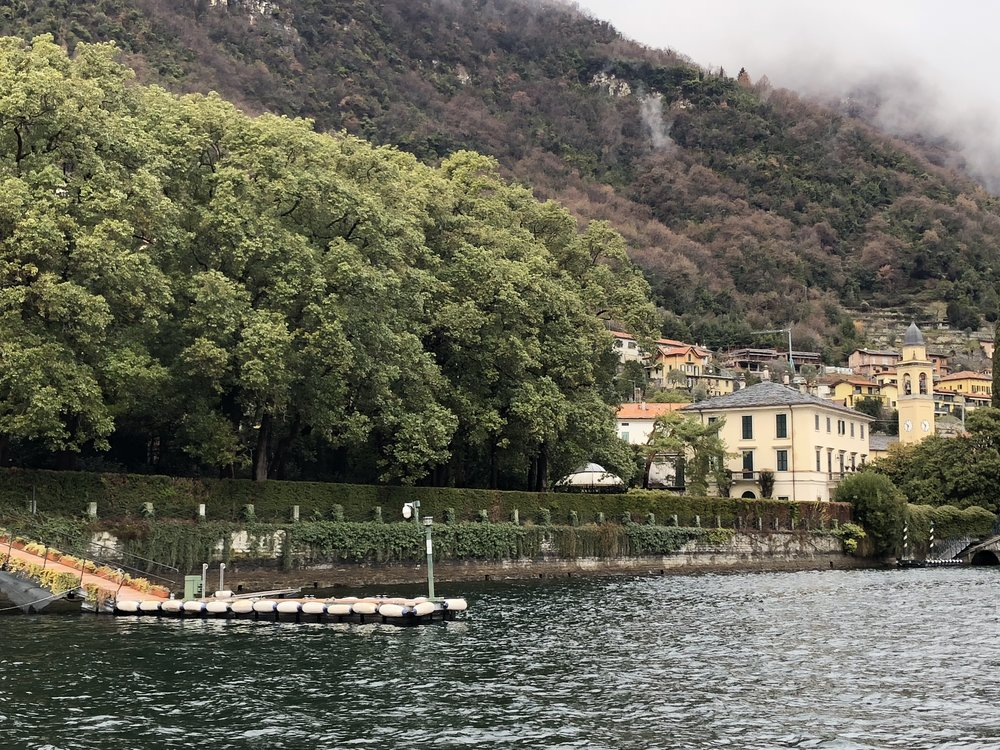 George Clooney's Villa at Lake Como