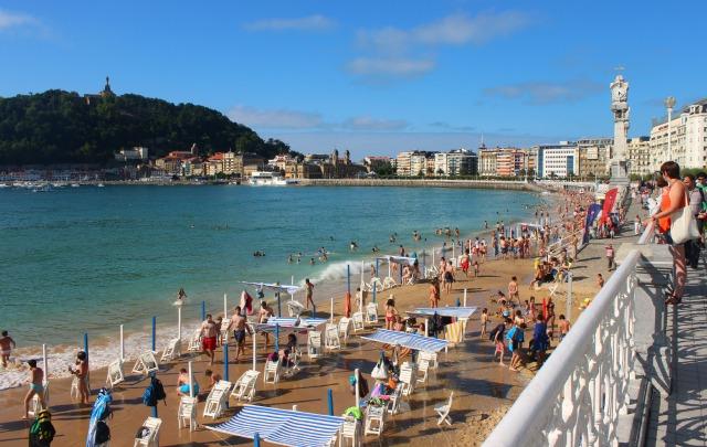San Sebastian Spain, La Concha beach.jpg