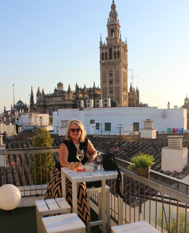 Heather Lindstrom Fontecruz, Seville Rooftop