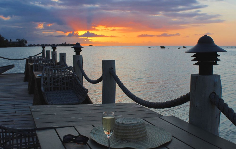 Sunset at zoetry Montego bay