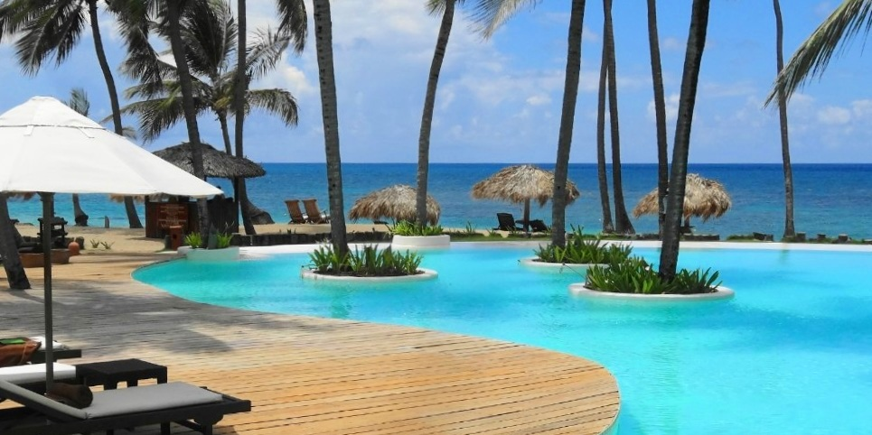 The pool at Zoetry Agua Punta Cana