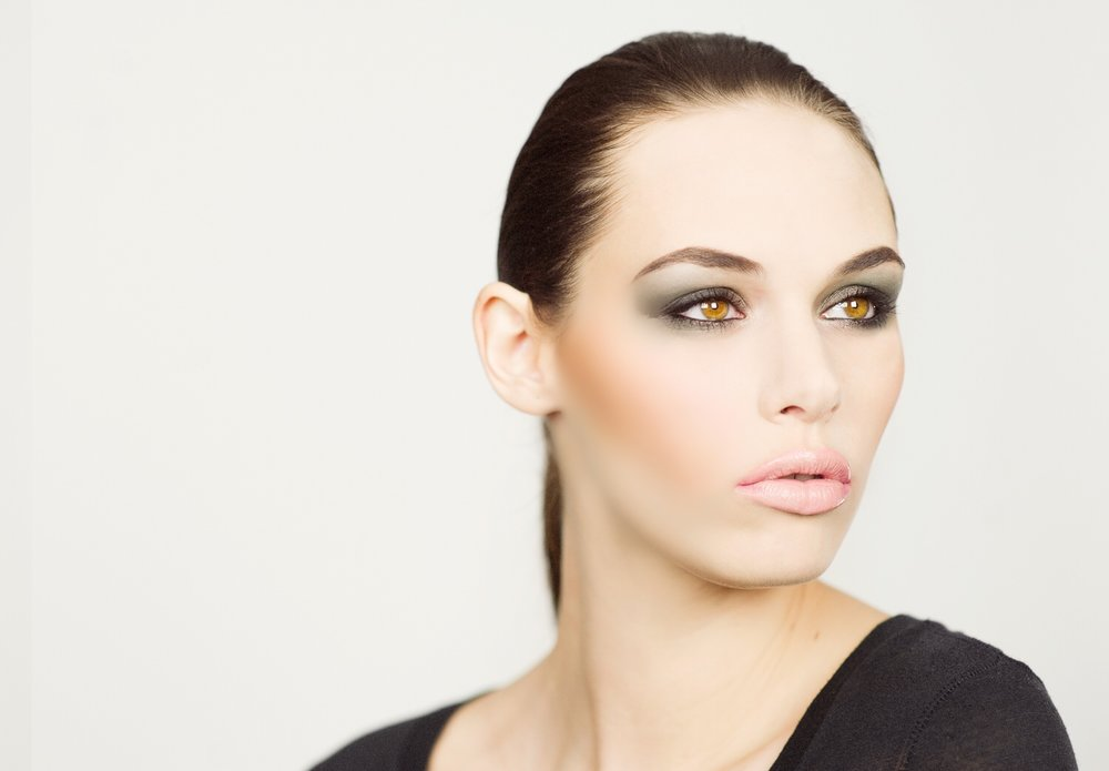 urban khaki palette . noir gel eyeliner pencil . volumizing mascara . highlighter duo pencil . plumping gloss in fairy dust