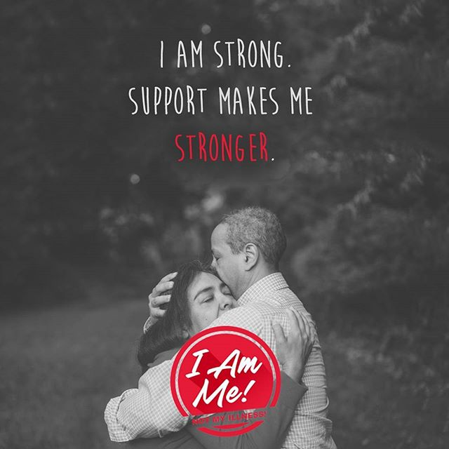 I am strong. Support makes me stronger.  I am me! Not my illness! What is this about? Link in bio --  - - Photo by Gus Moretta - - - - #endstigma #endthestigma #mentalhealth #mentalhealthawareness #stigma #bellletstalk #depression #mhsm #mentalillness #anxiety #psychiatry #psychology #health #sicknotweak #imnotashamed #keeptalkingmh #bipolar #ptsd #schizophrenia #equity #cdnhealth #healthcanada #cdnpoli