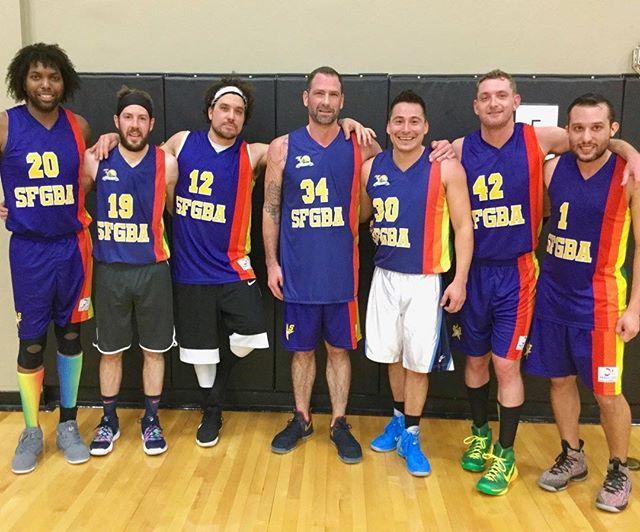 #Austin Capitol Classic team SF Jas repping @sfgba #sanfrancisco. #gaybasketball #ballers #teammates #🏀