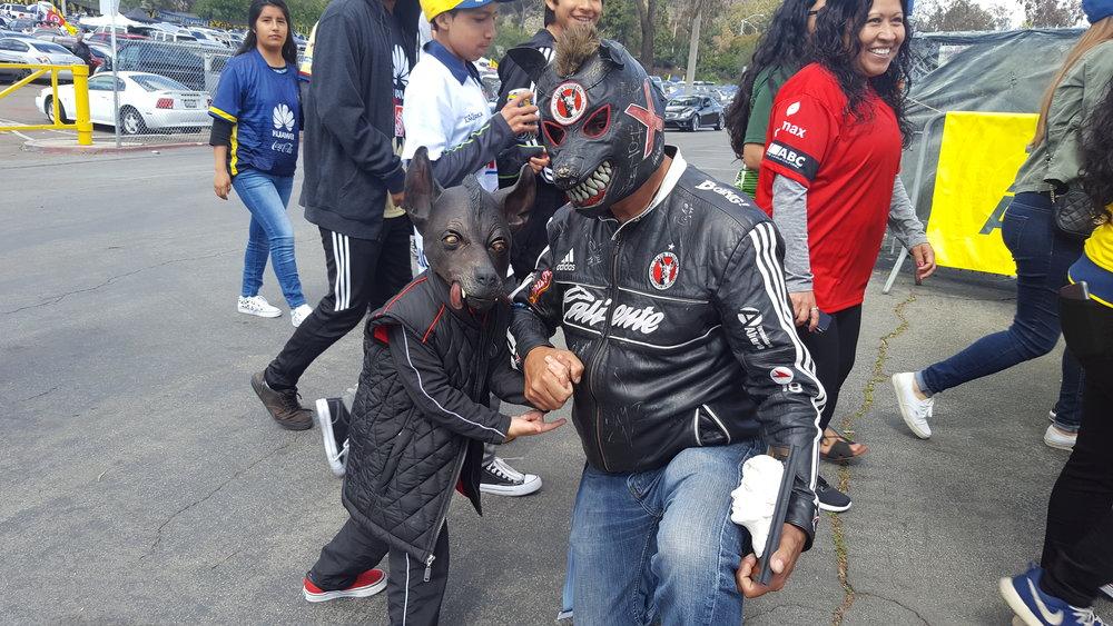 Xolos fans heading to Saturday's friendly
