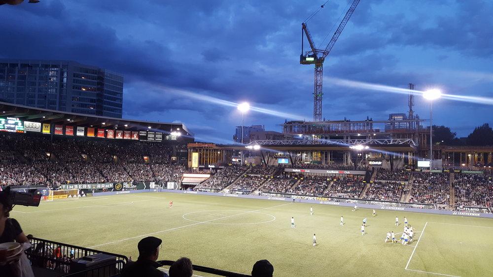 Providence Park — Portland Timbers vs Colorado Rapids