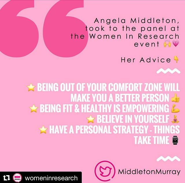 Repost from our sponsored @womeninresearch event last night @iviewlondon & System1! . . A favourite tweet from last nights London city event came from @middletonmurray! #MRX