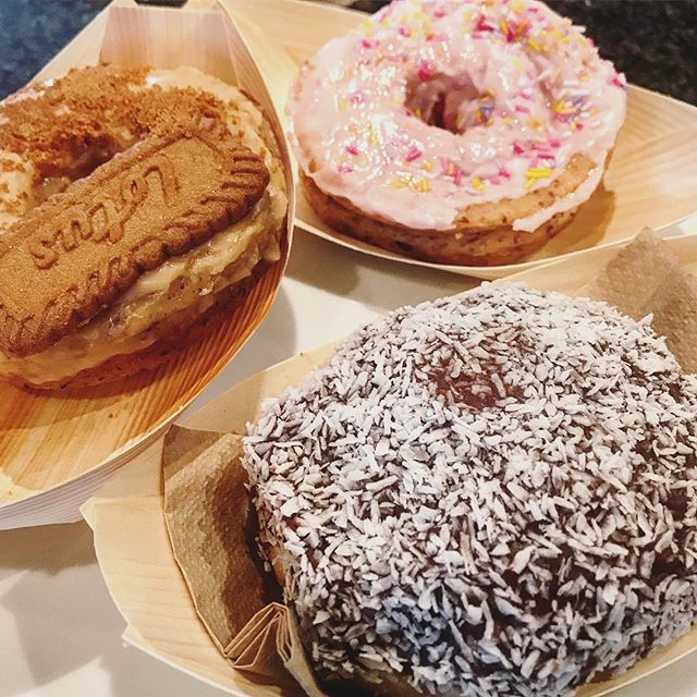 Doughnuts from @berightbake - just a stone's throw away from our office. They do vegan doughnuts too! Most definitely Fieldbox approved 🍩