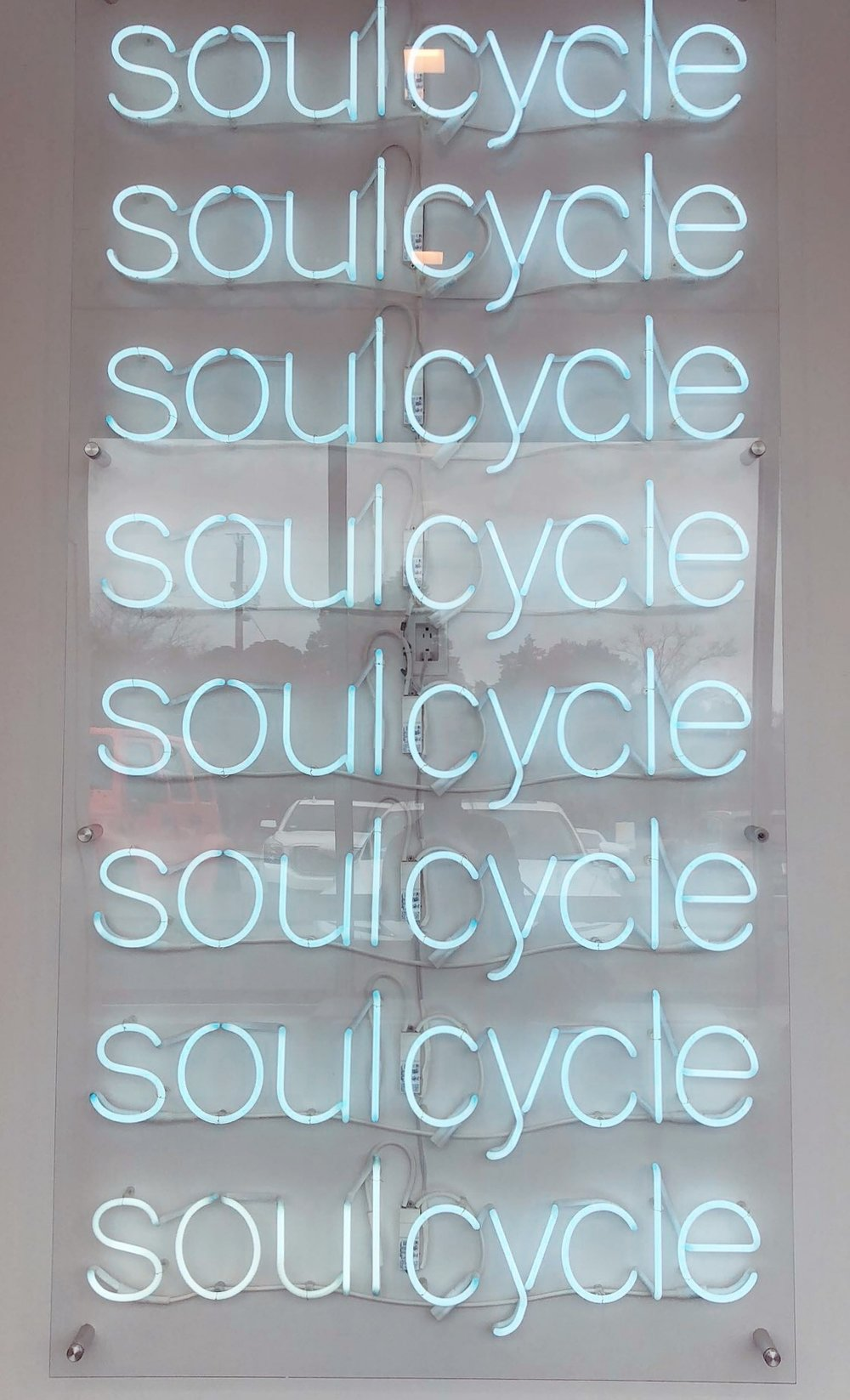 Soul Cycle.This was my first Soul Cycle class ever. I have been wanting to do one for so long but they do not have one in my area. It was so hard but so much fun. I felt amazing and upbeat after leaving, excited for my next class. -