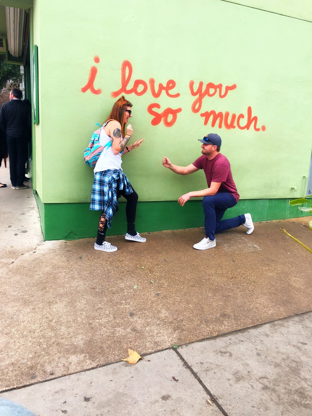 We even witnessed a proposal which was so cute and exciting! If you can't tell, she said yes :) -