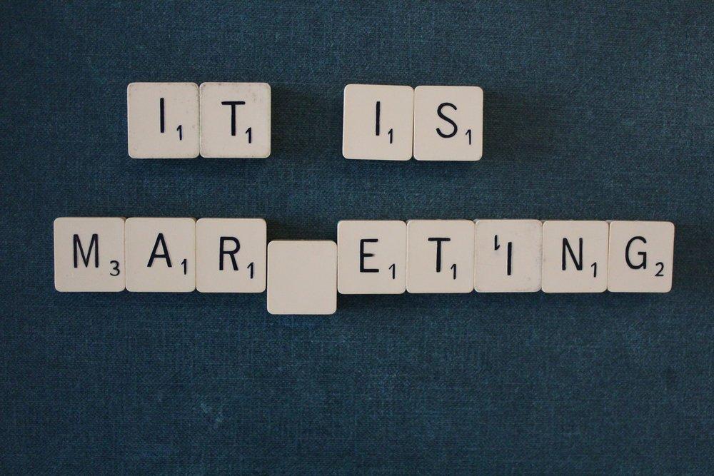 Scrabble marketing