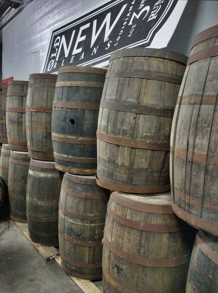 Barrels and barrels of Rum