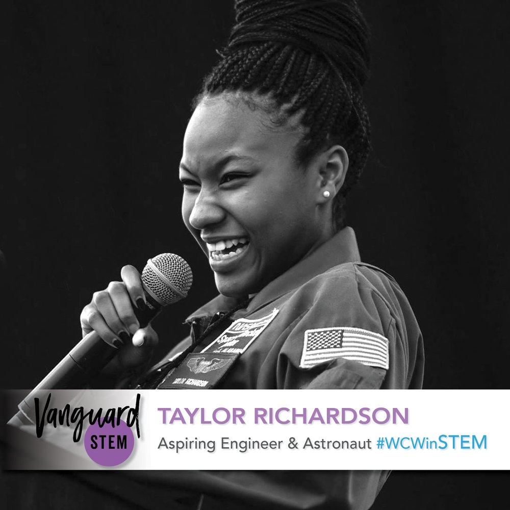 Taylor Richardson, Aspiring Astronaut and Engineer