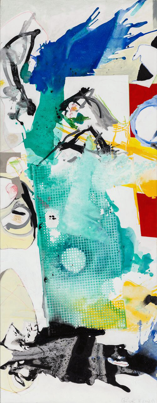 High End, 2017, 200 x ...cm, Öl und Acryl auf Leinwand