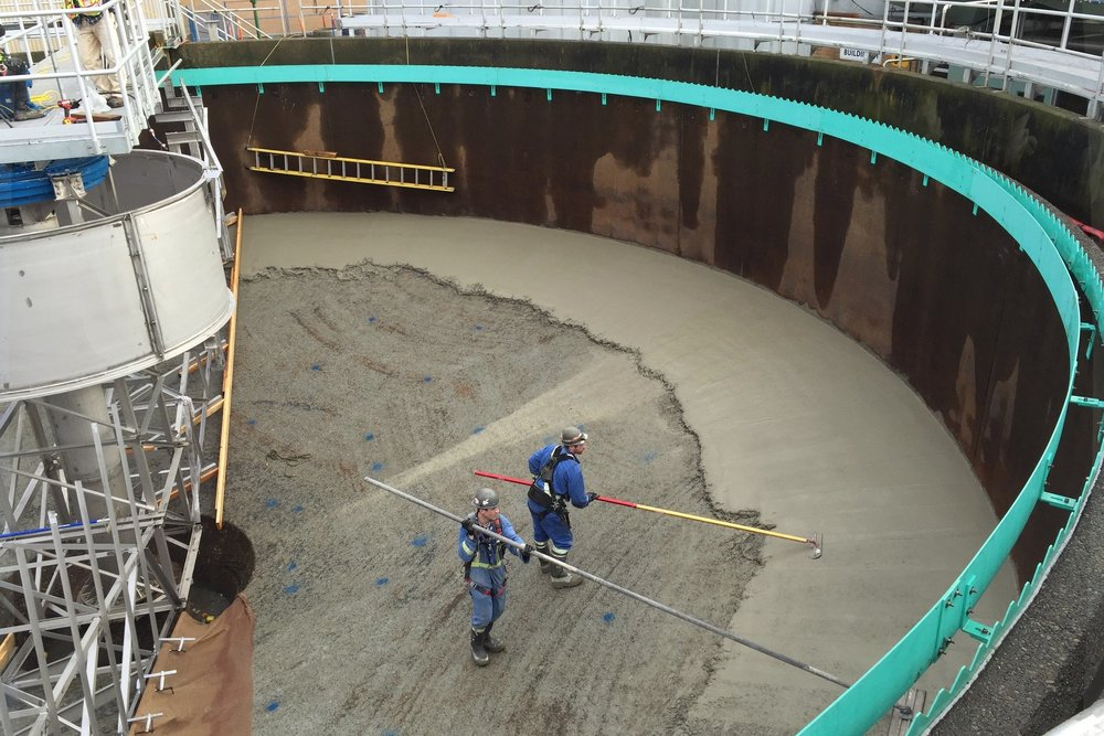 Iona wwtp thickener #1 - Mitchell Installations