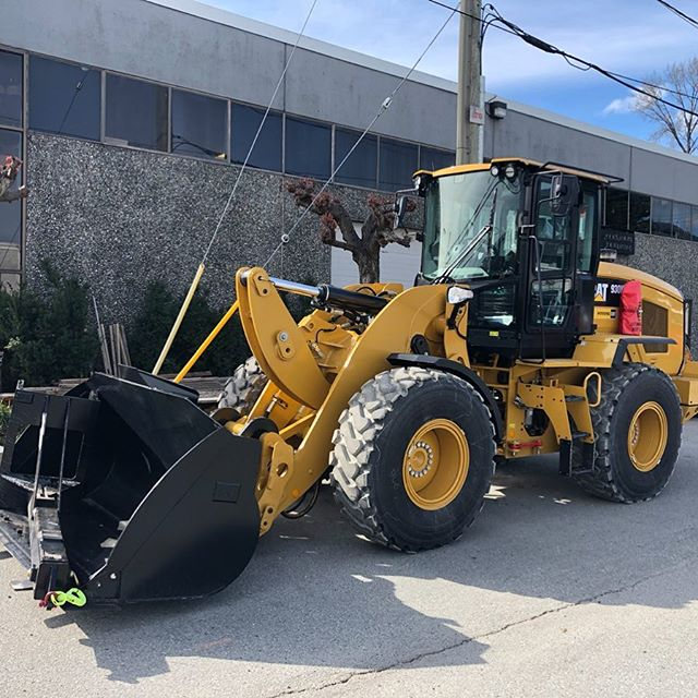 Newest addition to the fleet!  Can't wait to get her dirty  #cat930k #gravityconstruction #civilconstruction