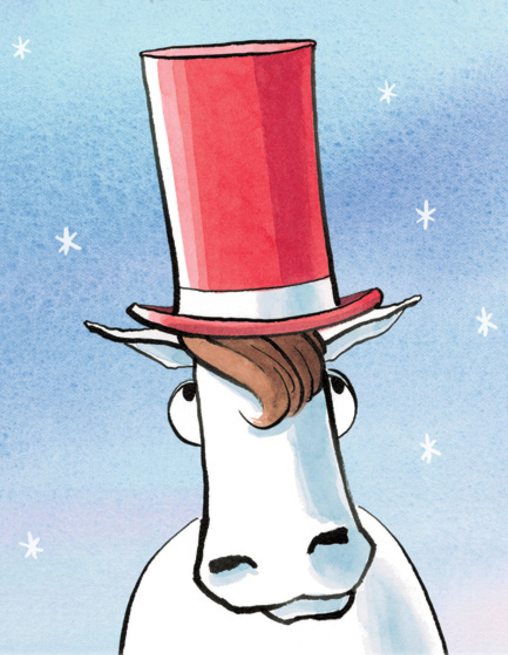 Is this a horse in a hat or a unicorn in disguise? If you think it just might be a unicorn, you're in the right place.