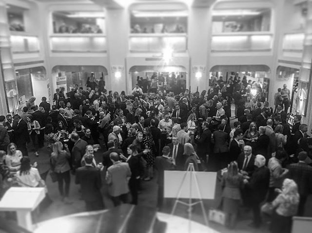 Hanging out with 600 of Calgary's movers and shakers at #rtc2018yyc. Thank you to @lifeincalgary CED for hosting, and thank you to @teatrorestaurant for the noms.