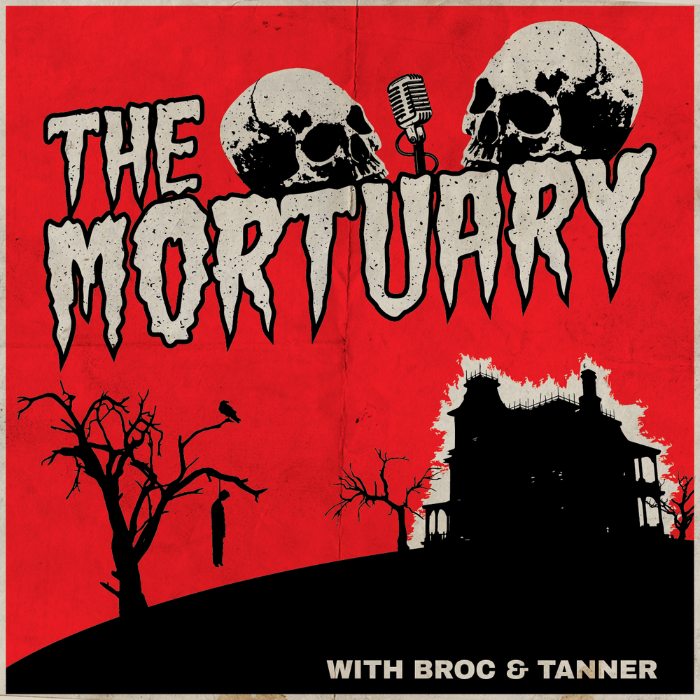 The Mortuary logo and podcast art was designed by Broc.