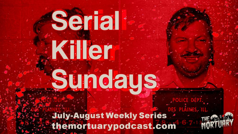 John Wayne Gacy mugshot Serial Killer Sundays podcast