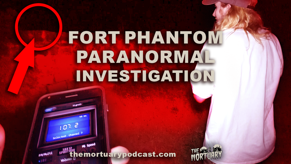 Lake Fort Phantom Hill Abilene Texas Paranormal Investigation The Mortuary podcast